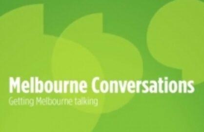 ONLINE NOW: Melbourne Conversations
